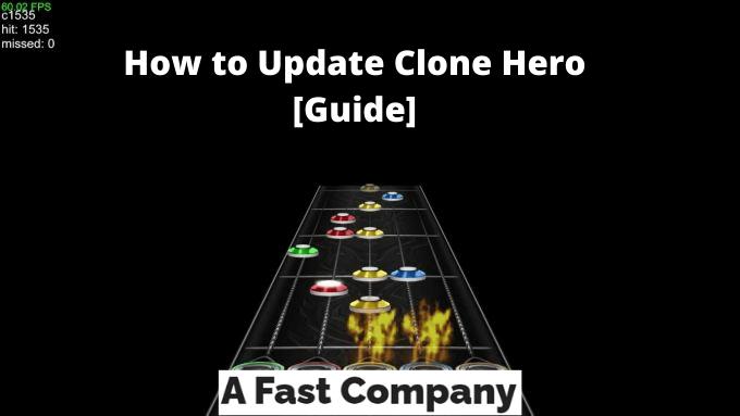 How to Update Clone Hero [Guide]